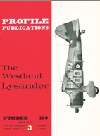 The Westland Lysander (Profile publications…