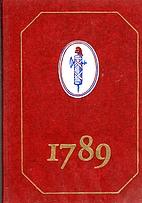 1789 : Avec La Collaboration Du Cabinet Des…