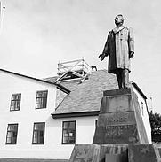 Author photo. Hannes Hafstein by sculptor Einar Jónsson, Reykjavik, Iceland