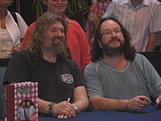 Author photo. Dave Myers (Right) and Si King (Left) / Photo by Jo Marshall