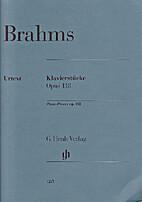 Klavierstücke op. 118 by Johannes Brahms