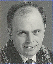Author photo. Unattributed portrait scanned from the back cover of <i>The Inner Apprentice</i>.