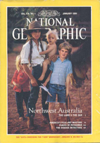 National Geographic Magazine 1991 v179 #1…