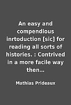 An easy and compendious inrtoduction [sic]…