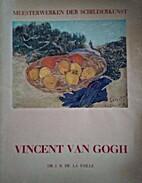 Vincent van Gogh by J. B. De LA Faille