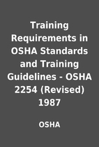Training Requirements in OSHA Standards and…