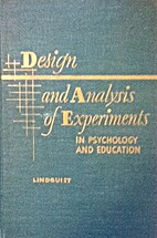Design and analysis of experiments in…