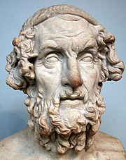 Author photo. from Wikipedia<br> Photograph taken of the bust of Homer<br> in the British Museum, London
