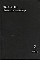 TFL. Tidskrift för litteraturvetenskap, 2…