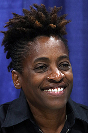 "Author photo. Woodson at the 2018 U.S. National Book Festival By Fuzheado - Own work, CC BY-SA 4.0, <a href=""https://commons.wikimedia.org/w/index.php?curid=72310421"" rel=""nofollow"" target=""_top"">https://commons.wikimedia.org/w/index.php?curid=72310421</a>"