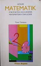 Högre matematik för poeter och…