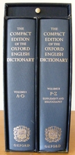 The Oxford English Dictionary [Compact…