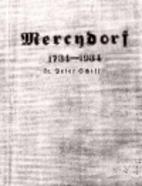 Mercydorf 1734-1934 by Peter Schiff