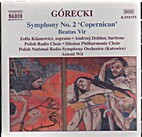 Symphony no. 2 ; Beatus vir by Henryk…