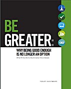 Be Greater: Why Being Good Enough Is No…