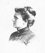 Author photo. Emma Churchman Hewitt (b.1850), Buffalo Electrotype and Engraving Co., Buffalo, N.Y.