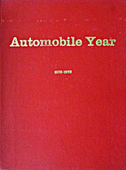 AUTOMOBILE YEAR 1972/73 by Ami Guichard