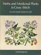 Herbs and medicinal plants in cross-stitch…