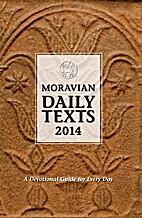 Moravian Daily Texts 2014 North American…