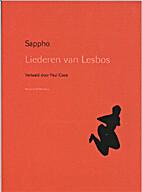 Liederen van Lesbos by Sappho