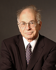 Author photo. Prof. Daniel Kahneman. Photo credit: Denise Applewhite (photo courtesy of Princeton University)