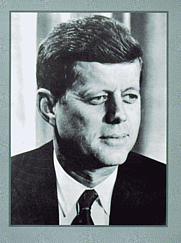 Author photo. John F. Kennedy, 1961-63 (Portrait)