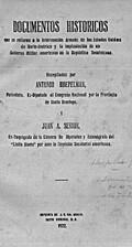 Documentos históricos que se refieren a la…