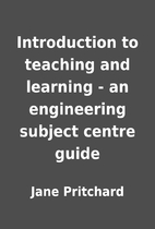 Introduction to teaching and learning - an…