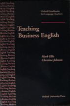 Teaching Business English (Oxford Handbooks…