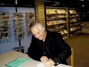 Author photo. Taken by Lesa Holstine, Velma Teague Library, 1/24/08