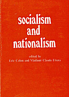 Socialism and Nationalism: Studies in…