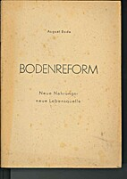 Bodenreform by August. [from old catalog]…