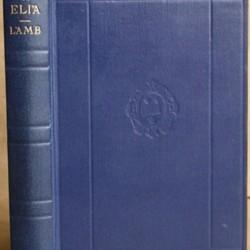 essays of elia charles lamb summary