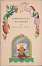 Jabberwocky Re-Versed and other Guinness…