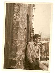 Author photo. Allen Ginsberg