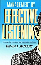 Management by effective listening by Kevin…