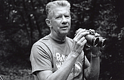 "Author photo. Chandler Robbins, in the field. Robbins, an American ornithologist, wrote an influential field guide to birds and organized the North American Breeding Bird Survey. By Barbara Dowell - United States Geological Survey - Patuxent Wildlife Research Refuge, CC BY-SA 4.0, <a href=""//commons.wikimedia.org/w/index.php?curid=38030036"" rel=""nofollow"" target=""_top"">https://commons.wikimedia.org/w/index.php?curid=38030036</a>"