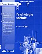 Psychologie sociale by Stéphanie Baggio