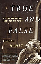True & False by David Mamet