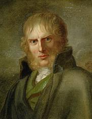 Author photo. By Gerhard von Kügelgen, Portrait of Caspar David Friedrich (c. 1810–20)