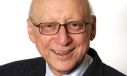 Author photo. Sir Gerald Kaufman, father of the House of Commons, in 2011.