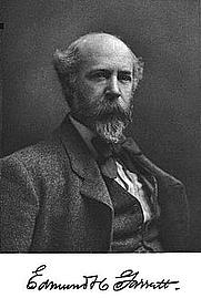 Author photo. Edmond Henry Garrett