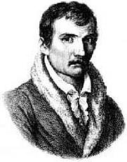 Author photo. Johann Gottfried Seume