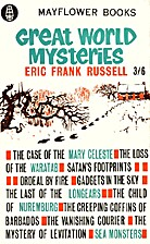 Great World Mysteries by Eric Frank Russell