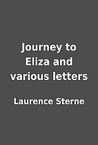 Journey to Eliza and various letters by…