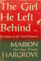 The girl he left behind; or, All quiet in…