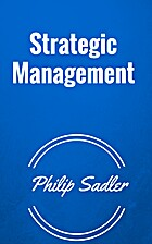 Strategic management. 2nd edition by Philip…