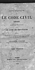 Code pratique ou le code civil expliqué…