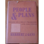 People and plans; essays on urban problems…