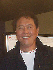 Author photo. Robert Kiyosaki. Photo by Casey Serin.